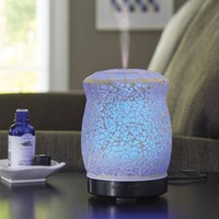 Better Homes and Gardens Essential Oil Diffuser, Crackle Mosaic - Walmart.com