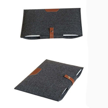 Felt sleeve, Ipad, macbook, macbook air, Felt pocket