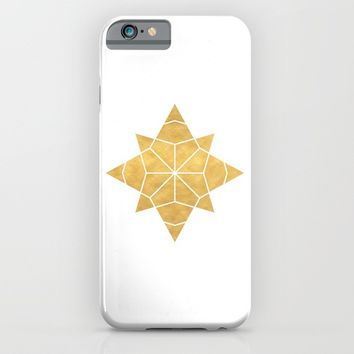 STAR SHAPE sacred geometry iPhone & iPod Case by deificus Art