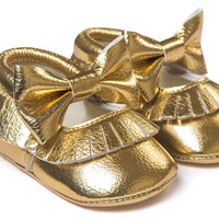 Goldielux-Pu Baby Moccs