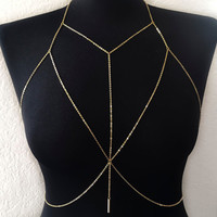 Sexy Beach Bikini Harness Body Chain Jewelery