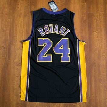Kobe Bryant #8 & #24 Los Angeles Lakers Swingman NBA Adidas & Nike Jerseys