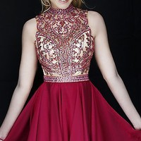 Short Strapless Sherri Hill Dress