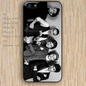 iPhone 5s 6 case cartoon dream One Direction phone case iphone case,ipod case,samsung galaxy case available plastic rubber case waterproof B551