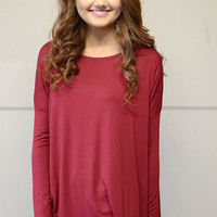Piko 1988 Long Sleeve - Garnet