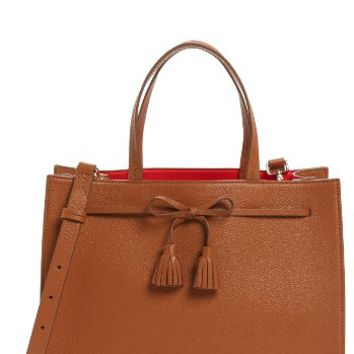 kate spade new york hayes street isobel leather satchel | Nordstrom