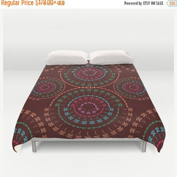 SALE FLAT 20% OFF Duvet Cover, mandala bedding, bohemian duvet cover, Bedding, Home Interior Decoration