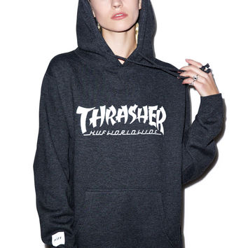 HUF HUF X Thrasher Asia Tour Pullover Hoodie