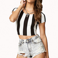 Favorite Striped Crop Top
