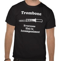 Trombone Gift T-shirts from Zazzle.com