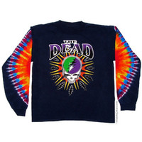 Grateful Dead - Steal Your Lightning Tie Dye T Shirt on Sale for $28.95 at HippieShop.com