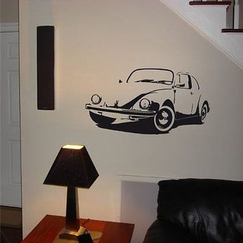 VOLKSWAGEN Bug Beatle Classic Wall Art Sticker decal 014