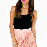 My Best Fringe Skirt $44