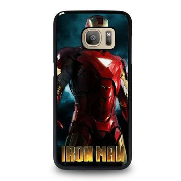 iron man 3 samsung galaxy s7 case cover  number 1