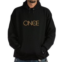 CafePress Once Upon A Time Hoodie dark - L Black