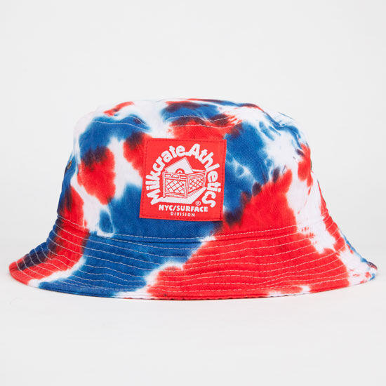 Milkcrate Athletics Usa Tie Dye Mens Bucket Hat Red White Blue One Size For  Men 231083 24c7d50a4fbb
