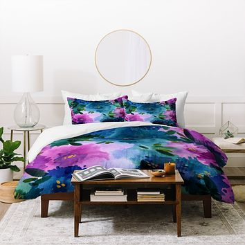 Joy Laforme Briar Bush 1 Duvet Cover