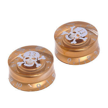Hot Speed Volume Tone Control Knobs For Gibson Les Paul Electric Guitar HU