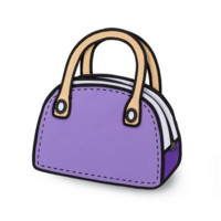 JumpFromPaper™ Carly Sweetie (Purple)