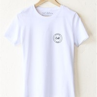 Beach Babe Cali Relaxed Tee - White