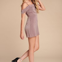 Party Bound Mini Dress (Mocha)