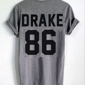 ESBIH3 DRAKE 86 [printed back] fashion women's T-shirt