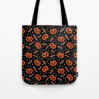 Trick or Treat Tote Bag by therewillbecute