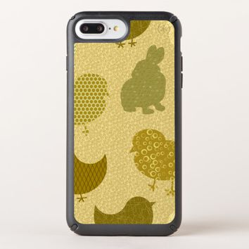 Mustard Easter Chicks iPhone 8/7/6s/6 Plus Case