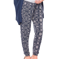 Cadence Maternity Pant in Graphic Python