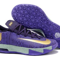 "Nike Zoom KD 6  Kevin Durant  Ⅵ   ""Black History Month Limited Edition ""  Basketball Shoes"