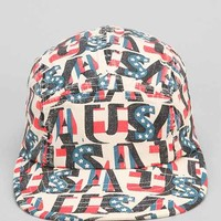 Rosin USA Strap-Back 5-Panel Hat - White One