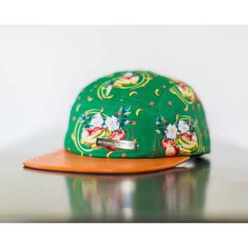 Peaches and Bananas 5 Panel Hat