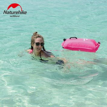 high quality naturehike Inflatable swimming flotation bag life buoy pool floaties dry waterproof bag for swimming drifting