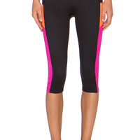 SPANX Shaping Compression Pant in Black & Pink Pow