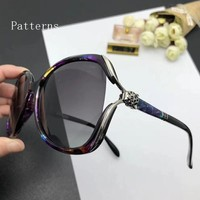 New ladies' polarized sunglasses at Cartier and sun-glasses driving sunglasses are sun-resistant sunglasses