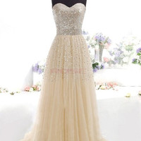 New Fashion Women's Cocktail Party Strapless Sexy Prom Gown Dress = 1745299140