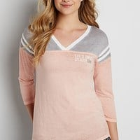 tee with life is simple eat sleep camp graphic | maurices
