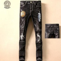 Versace Fashion Men Pants Jeans