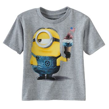 Despicable Me Minion Patriotic Tee - Boys