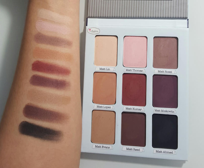 meet matt(e trimony. matte eyeshadow palette