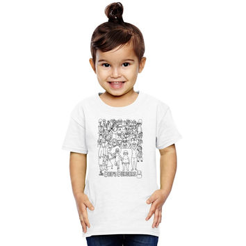 Characters Of Bobs Burgers Toddler T-shirt