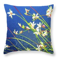 Bowman's Root Throw Pillow