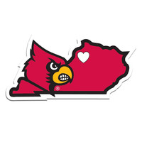 Louisville Cardinals Home State Decal CHSD88