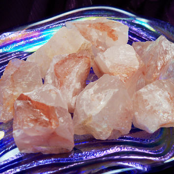 FIRE QUARTZ Return to Your True Self Stone - Clear Energy Blockages & Heal Past Life Trauma