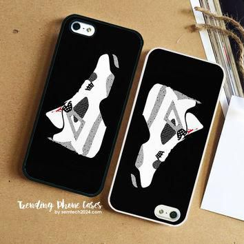 AIR JORDAN 4 CEMENT iPhone Case Cover for iPhone 6 6 Plus 5s 5 5c 4s 4 Case