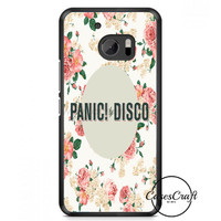 Panic At The Disco Cover HTC One M10 Case