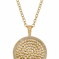 Anna Beck || Gold Medallion necklace