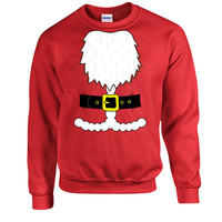 Funny Christmas Sweater Santa Sweater Santa Claus Merry Christmas Santa Costume Gifts For Christmas Christmas Hoodie Xmas Gifts DN-320