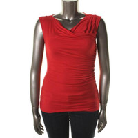 INC Womens Sleeveless Cowl Neck Knit Top