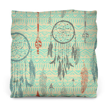 Dream Catchers Throw Pillow